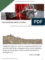 CALTAGIRONE ARTE E STORIA - CALTAGIRONE CITTA' BAROCCA