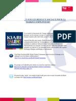 Kiabi se lance sur les réseaux sociaux pour sa marque employeur