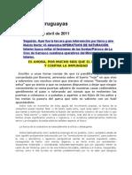 Noticias uruguayas 21 abril 2011