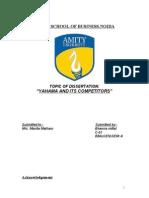 yamaha final dissertation report