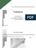 Investment Valuation Slide
