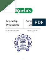 44899856 Ruchi Soya Project Report
