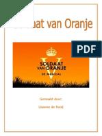 CKV Verslag Soldaat Van Oranje