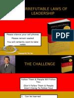 John C Maxwell Law of Influence Tim Herr