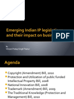 Emerging Indian IP legislations and their impact on businesses