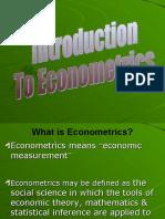Introduction to Eco No Metrics (1)
