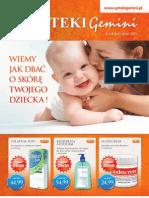Gazetka Reklamowa Aptek Gemini Kwiecien Maj 2011