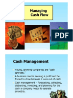 Lecture 6. Cash Flow Management