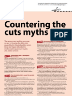 Countering the Cuts Myths