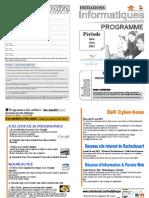 Programme Mai Juin 2011