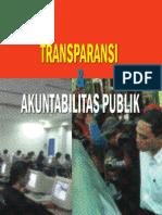 Transparansi Dan Akuntabilitas Publik
