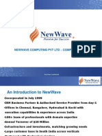 Newwave Company Profile