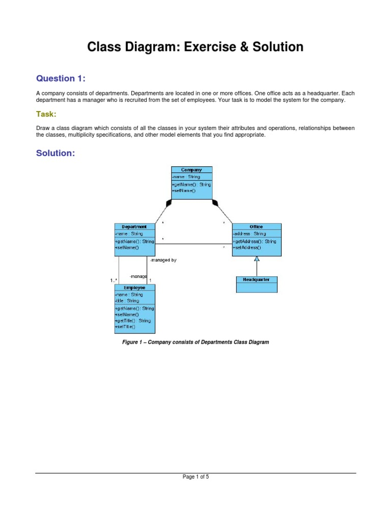 Class diagram exercises and solutions node networking computer class diagram exercises and solutions node networking computer network ccuart Image collections