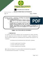 CDE Info Procesus 1