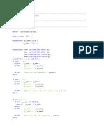 ABAP Programs