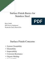 Surface Finish Basics for Stainless Steel Rev 1[1]