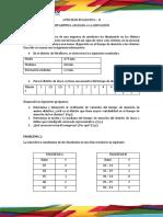 ACTIVIDAD EVALUATIVA II - Estadística