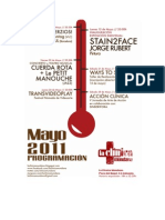 PROGRAMA CLÍNICO - MAYO 2011