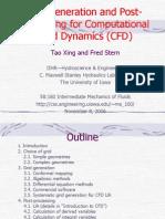 CFD Grid Post Processing 2006