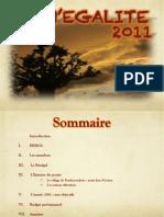 Plaquette présentation Sénégalité 2011