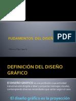 FUDAMENTOS  DEL DISEÑO GRÁFICO