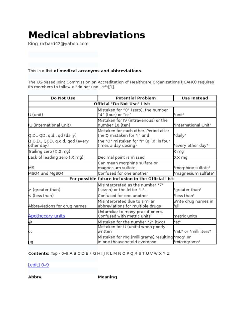 Medical abbreviation ptx - Medical Abbreviation Ptx 13