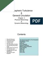 Atmospheric Turbulance and General Circulation-4th-17032011