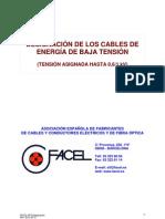 PF-03 DESIGNACIÓN CABLES  Rev 2010-03-31