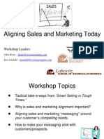 Aligning Sales Marketing