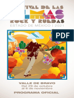 Programa oficial Festival de las Almas 2021