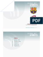 Como se hizo usapabarcelona.cat (FC Barcelona) - Global Net Sports