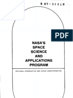 NASA's Space Science and Applications Program