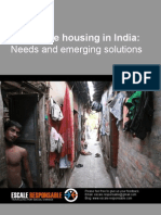 Affordable Housing in India Needs and Emerging Solutions