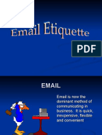 E Mail Etiquette