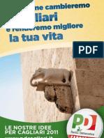 PARTITO DEMOCRATICO - Programma Comunali Cagliari 2011