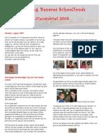 Benares School Nieuwsbrief 2008