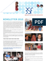 Benares School Newsletter 2010