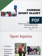 Common Sport Injury