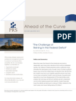 Ahead of the Curve 2q2011