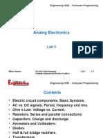Lab 3 - Analog Electronics