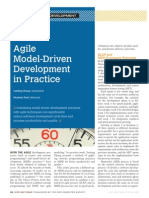 Agile-Model Driven Development
