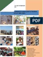Rapport Evaluation PNAN 2005 2009
