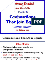 J- Conjunctions and Punctuation