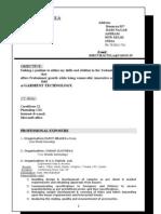 Shruti Resume[1]
