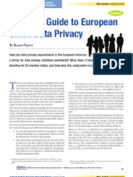 Oqvist-A Simple Guide to European Union Data Privacy