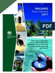 Travel advisory for Maldives