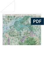 Rehabilitation & Resettlement Plan for Navi Mumbai International Airport Superimposed on Google Image