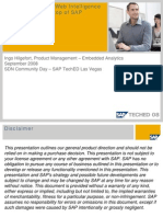 19494980 Best Practices for Web Intelligence XI Release 30 on Top of SAP NetWeaver BI