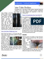 Water Tube Boilers