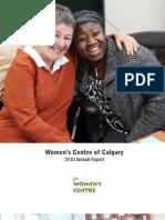 Women's Centre 2010 Annual Report